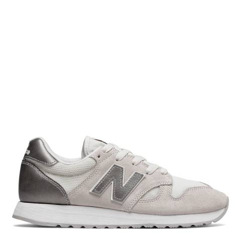 New Balance Women's Beige Suede 520 Trainers