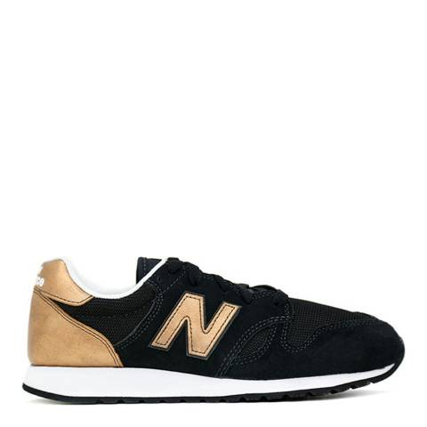 New Balance Women's Black Suede 520 Trainers