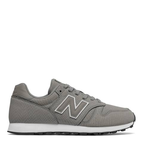 New Balance Women's Grey Leather 373 Trainers