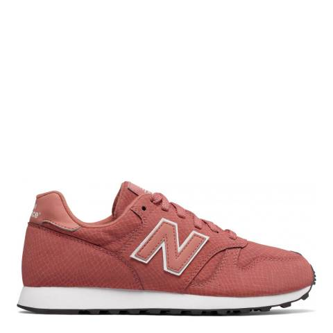 New Balance Women's Pink Leather 373 Trainers
