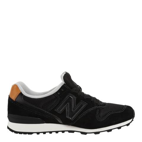 New Balance Women's Black Suede 996 Trainers