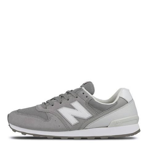 New Balance Women's Grey Suede 996 Trainers