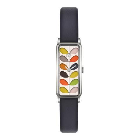 Orla Kiely Navy/Multi Quartz Slim Watch