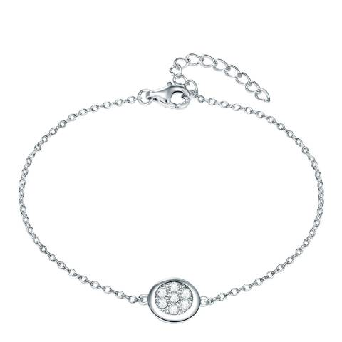 The Pacific Pearl Company Sterling Silver Diamond Bracelet