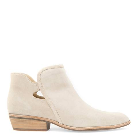 Geox Women's Nude Suede Cut Out Ankle Boots