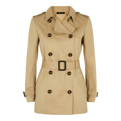 Jaeger Stone Short Trench