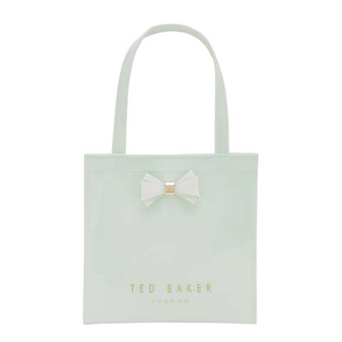 Ted Baker Womens Green PVC Aracon Small Icon Bag