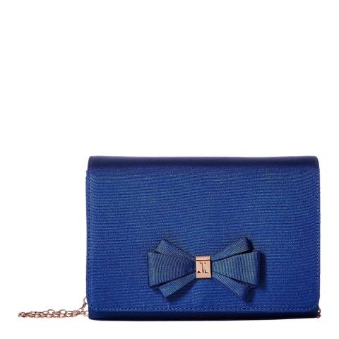 Ted Baker Womens Blue Polyester Kiana Clutch Bag