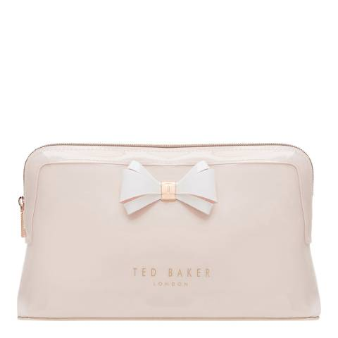 Ted Baker Womens Pink PVC Abbie Large Wash Bag