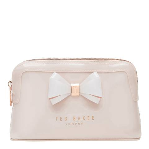 Ted Baker Womens Pink PVC Aimee Make-Up Bag