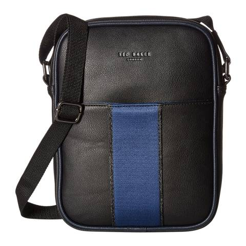 Ted Baker Mens Black Escabar Mini Flight Bag