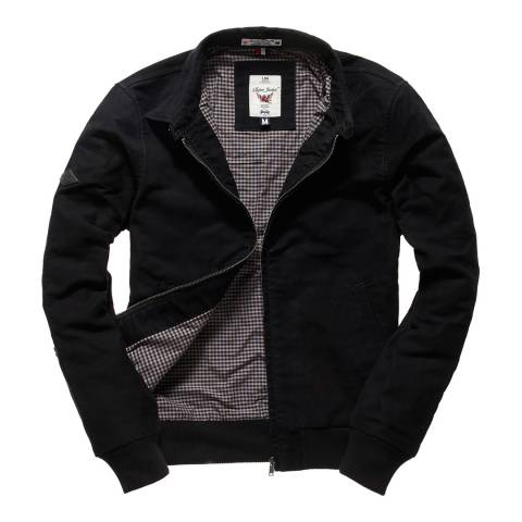Superdry Black Ultimate Moleskin Harrington Jacket