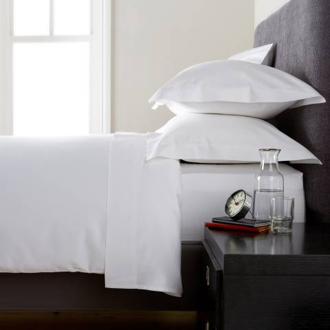 Behrens Heritage 400TC Double Duvet Cover, White