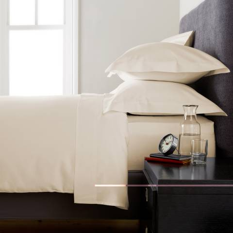 Behrens Heritage 400TC King Duvet Cover, Ivory