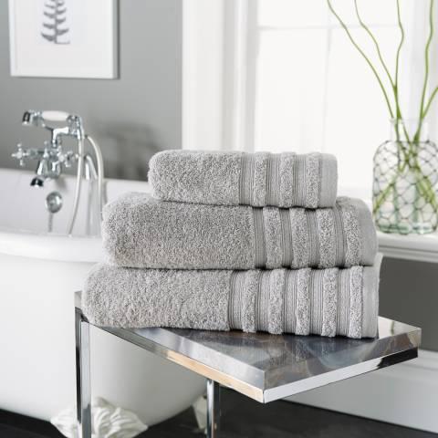 Behrens Revive Pair of Hand Towels, Grey