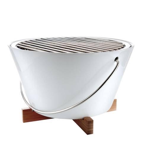 Eva Solo White Porcelain Charcoal Table Grill