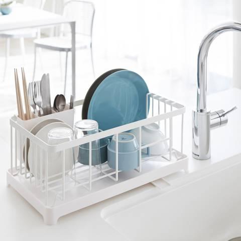 Yamazaki Tower Wire Sink Drainer Basket, White