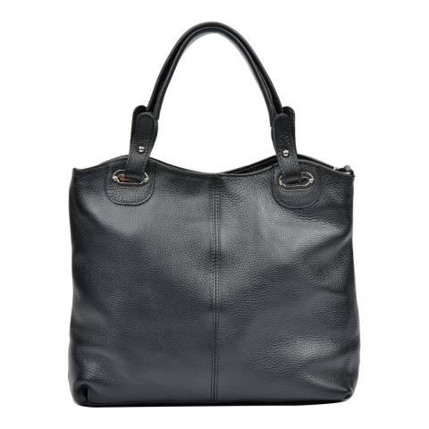 Luisa Vannini Women's Black Luisa Vannini Top Handle Bag