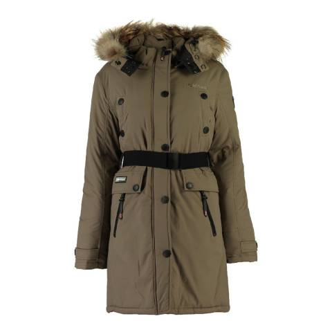 Geographical Norway Women's Beige Acaba Parka