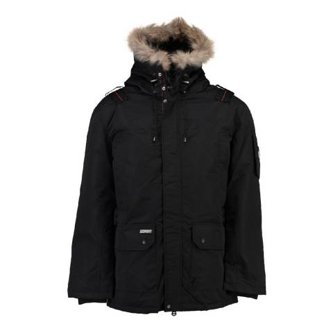 Geographical Norway Ametyste Black Parka