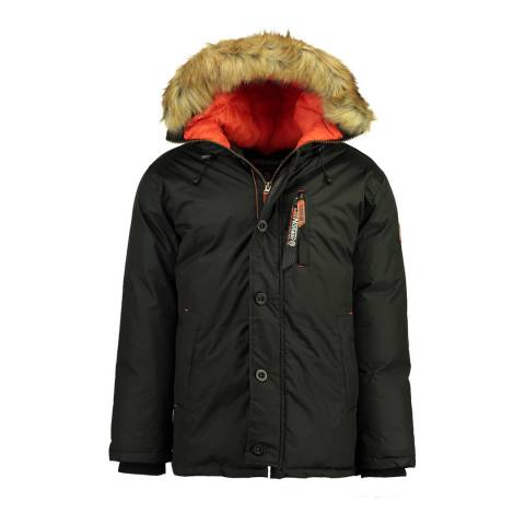 Geographical Norway Black Darwin Parka