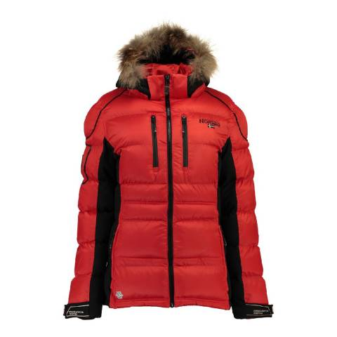 Geographical Norway Women's Red Basilic Parka
