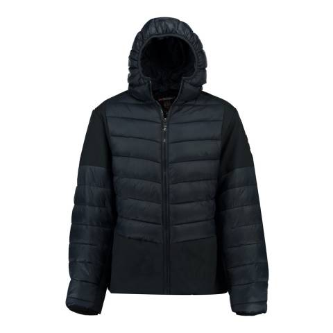 Geographical Norway Navy Ducroc Jacket