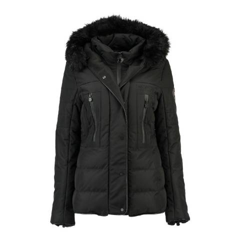 Geographical Norway Black Dionysos Parka