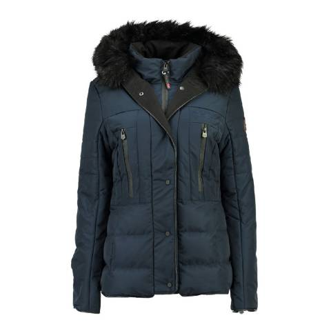 Geographical Norway Women's Navy Dionysos Parka