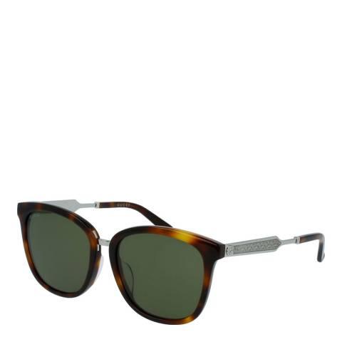 Gucci Women's Brown Sunglasses 56mm