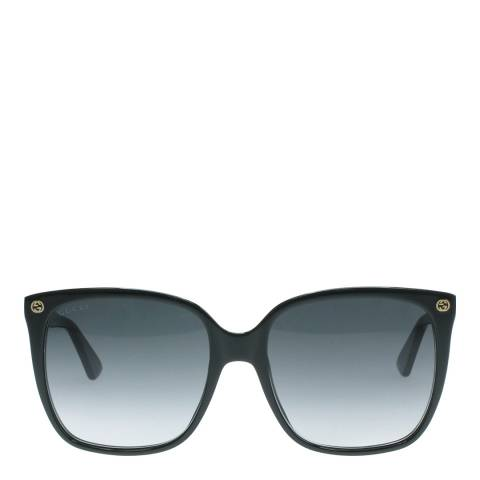 Gucci Women's Black Sunglasses 57mm