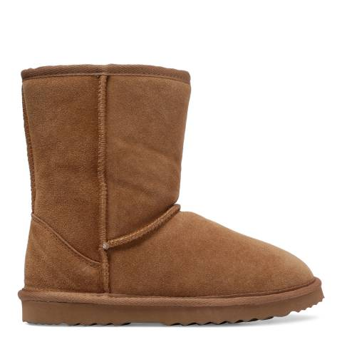 Fenlands Sheepskin Chestnut Sheepskin Classic Boots