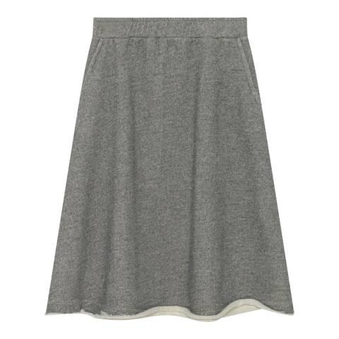 American Vintage Grey Midi Skirt