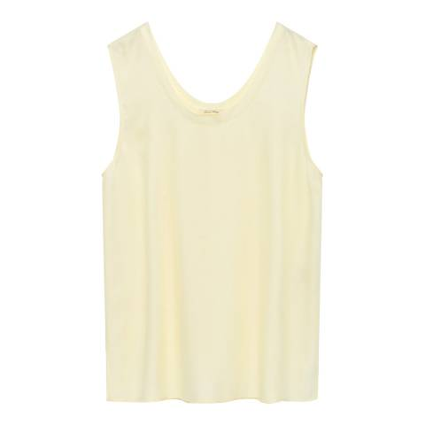 American Vintage Yellow Sleeveless Long Top
