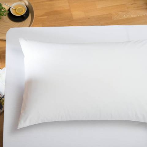 The White Room White Santa Fe King Fitted Sheet