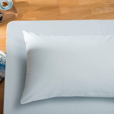 The White Room Duck Egg Santa Fe Double Fitted Sheet