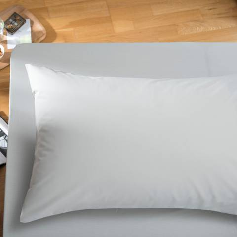 The White Room Grey Santa Fe King Fitted Sheet
