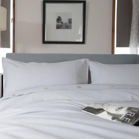 The White Room Grey Santa Fe Double Duvet Cover Set