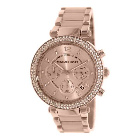 Michael Kors Women's Rose Gold Parker Watch