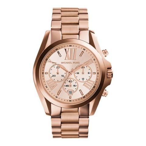 Michael Kors Women's Rose Gold Bradshaw Watch