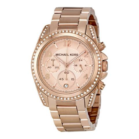 Michael Kors Women's Rose Gold Blair Watch