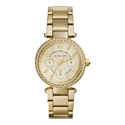 Michael Kors Women's Gold Parker Watch