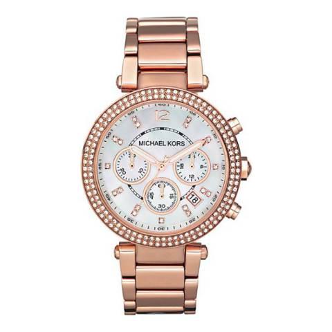 Michael Kors Women's Rose Gold Parker Watch