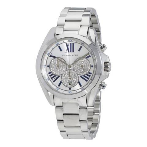 Michael Kors Women's Silver Bradshaw Watch