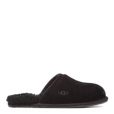 UGG Black Sheepskin Pearle Mule Slippers