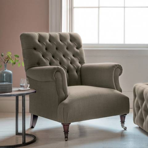Gallery Hampton Armchair in Field Army