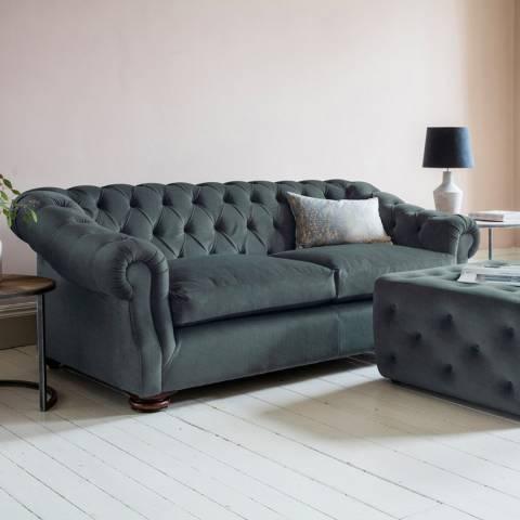 Gallery Hampton Sofa in Field Steel Blue