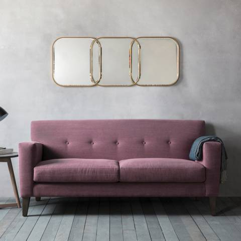 Gallery Shoreditch 3 Seater Sofa in Ranch Wine Red