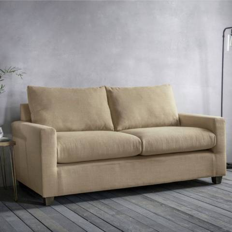 Gallery Stratford 3 Seater Sofa in Field Beige