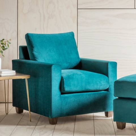 Gallery Stratford Armchair in Brussels Petrol